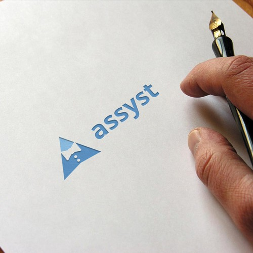 Winner design for assyst logo contest.