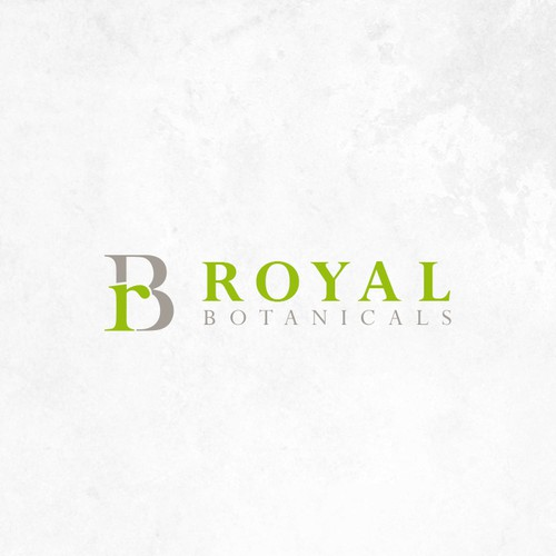 Design a modern logo for Royal Botanicals