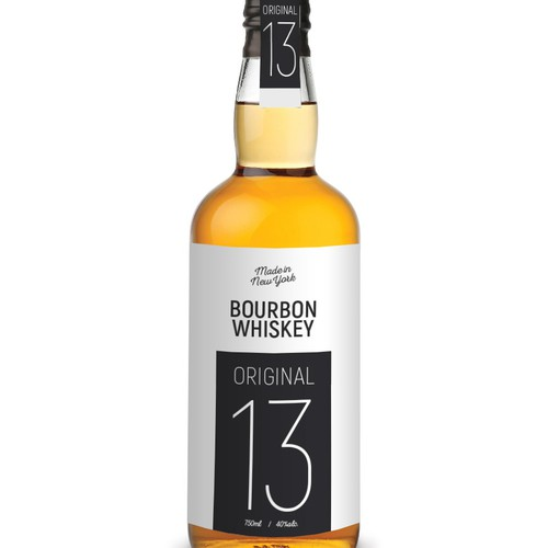 "Bourbon Whiskey ""Original 13"""