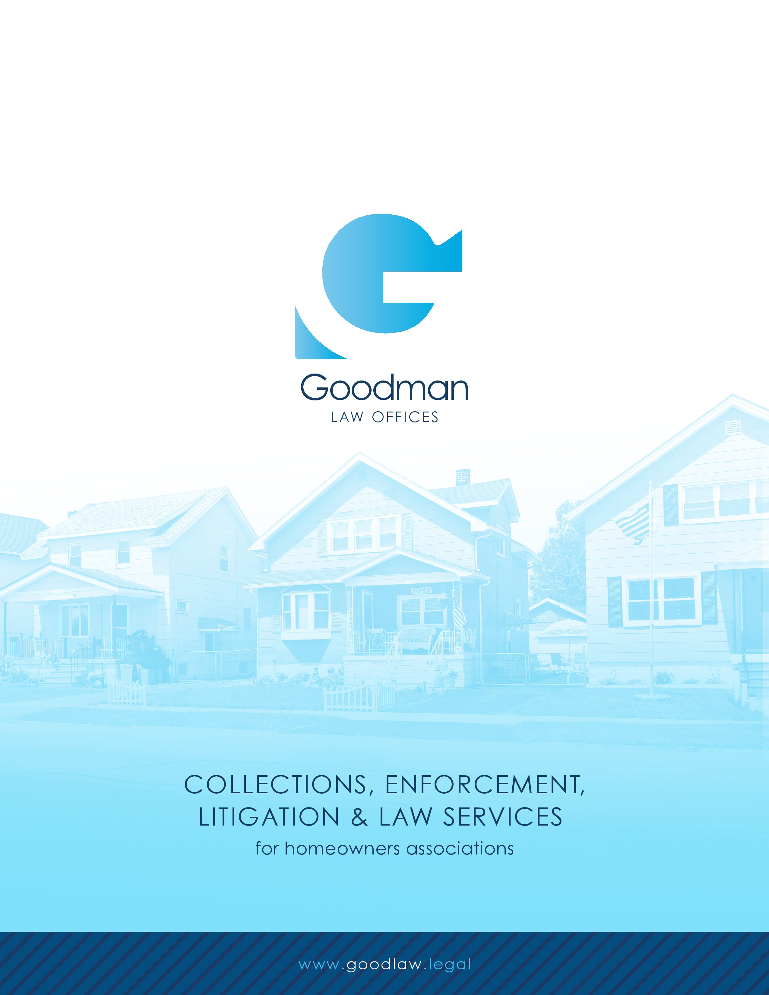 PDF (online) brochure for a law firm to email to prospective clients