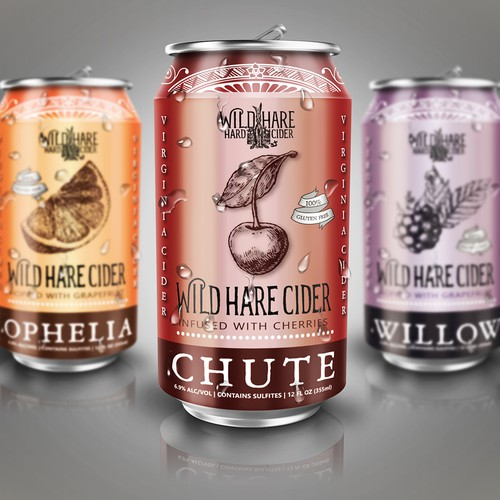 Label Design for Canned Hard Cider