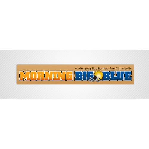 Banner for Morning Big Blue