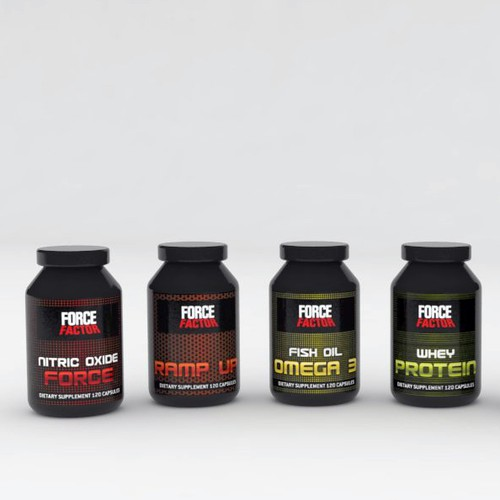 Labels & Branding for Supplement Line