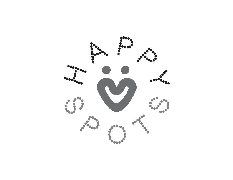 Happy Spots - Bright and cheery logo design!