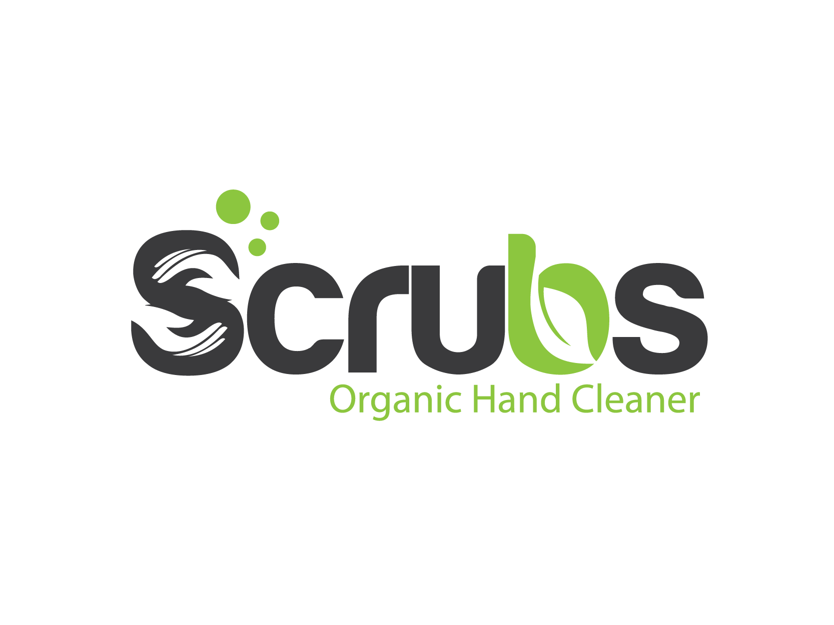 """Create a Modern Professional yet subliminal style Logo for Scrubs """"Organice Hand Cleaner"""""""