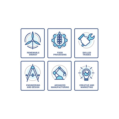 Staffing firm icons