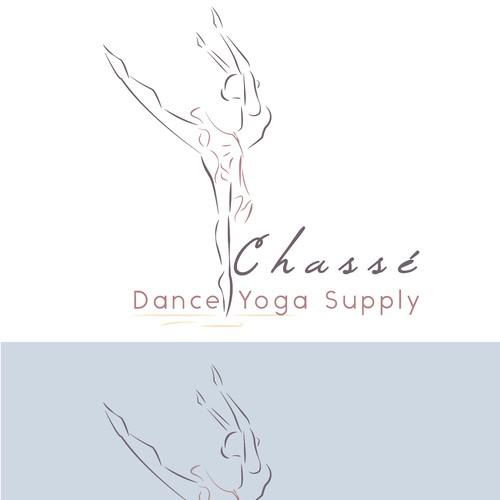 Logo for women supply, dance, yoga