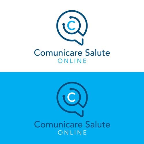 Logo concept for Comunicare Salute Online