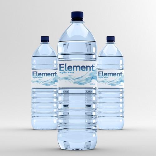 Label Re-design for Element: Aquifer Water