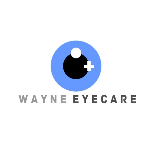 Create a logo to help Wayne EyeCare optimize its patient care