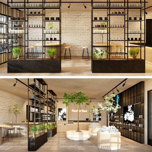 Vape shop design proposal