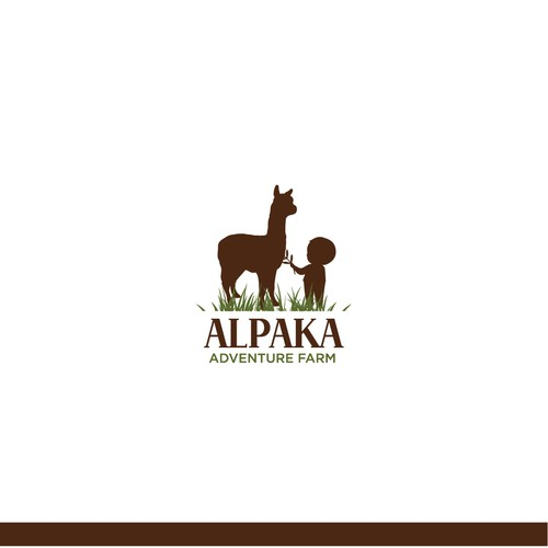Logo for Alpaca tours for children in the nature
