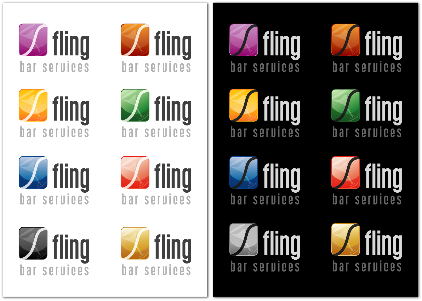 New logo wanted for Fling Bar Services
