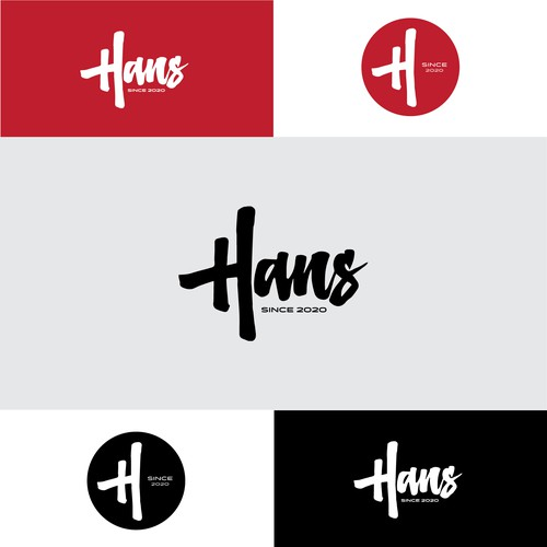 Logo design form Hans