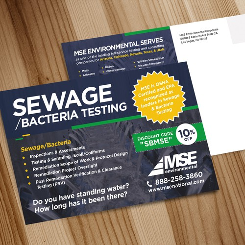 12 Postcards for MSE Environmental!