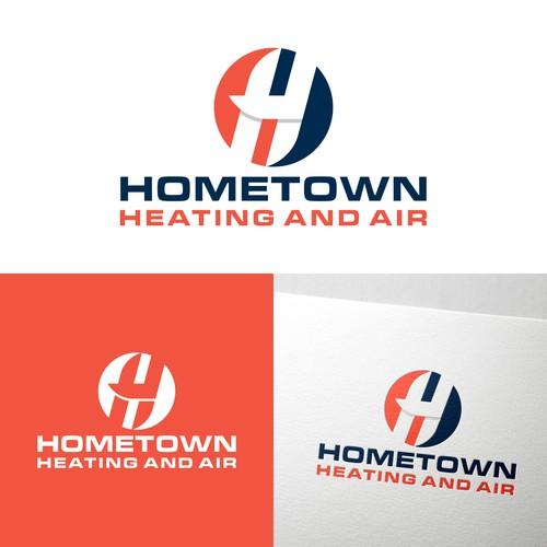 H logo concept