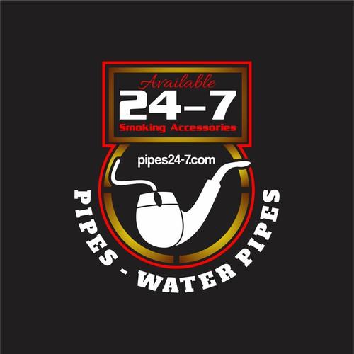 Logo presentado para pipes24-7.com