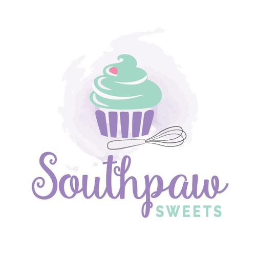 Cake and Sweets Bakery Logo Design.