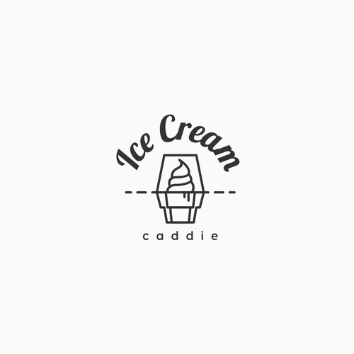 Ice cream  caddie