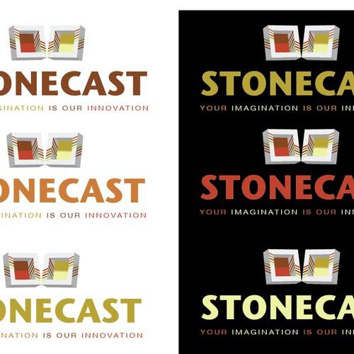 Stonecast logo creation