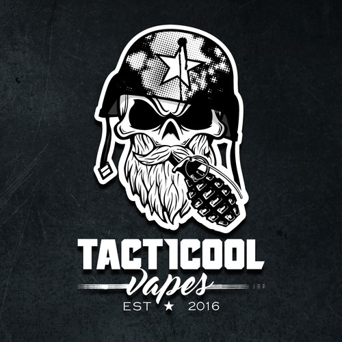 Tactical Vape logo concept