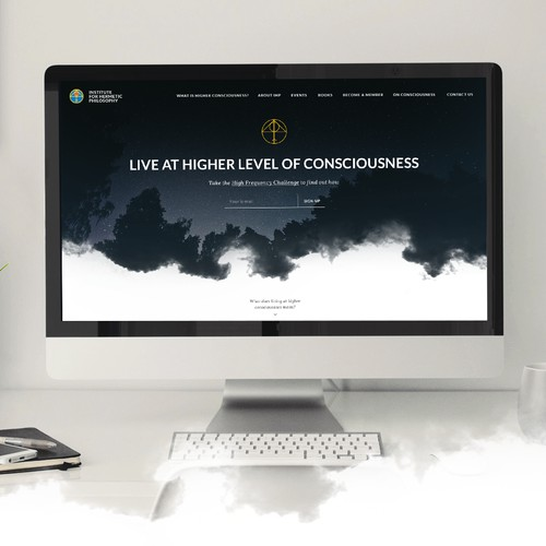 Webdesign for Institute of Hermetic Philosophy