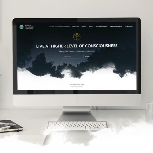 Webdesign for Institute of Hermetic Philosophy