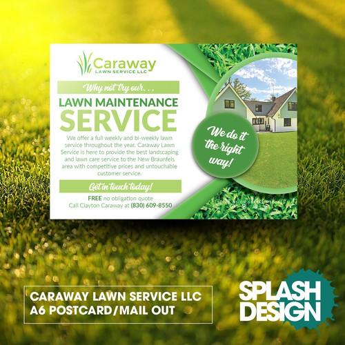 Caraway Mailer Postcard