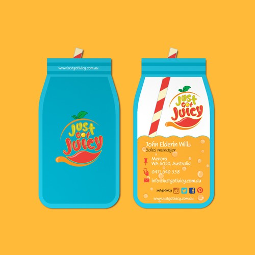 Juice production innovative Re-Brand