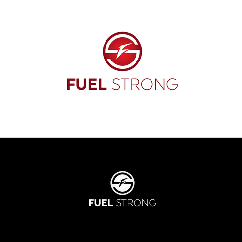 Smart logo concept for Fuel Strong