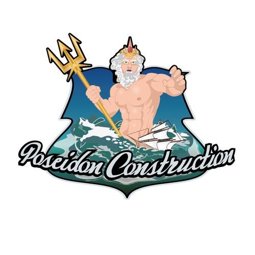Create logo for Poseidon Construction