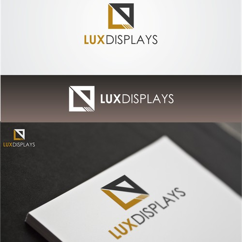 Elegant logo for shiny displays