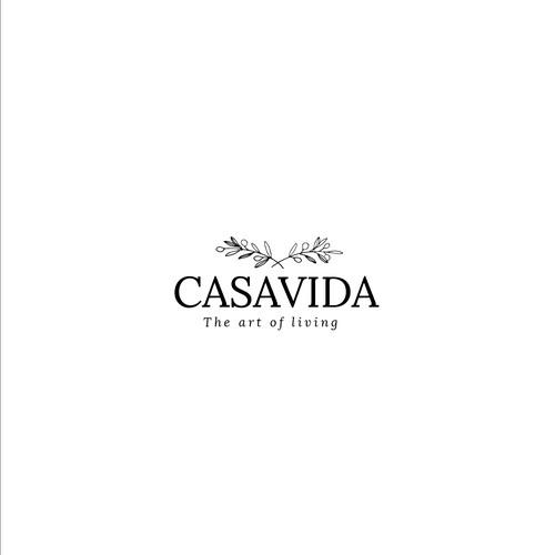 CASAVIDA logo design