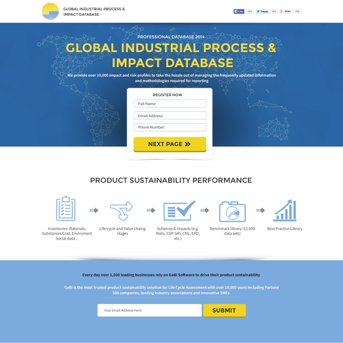 Global Industrial Process & Impact Databse