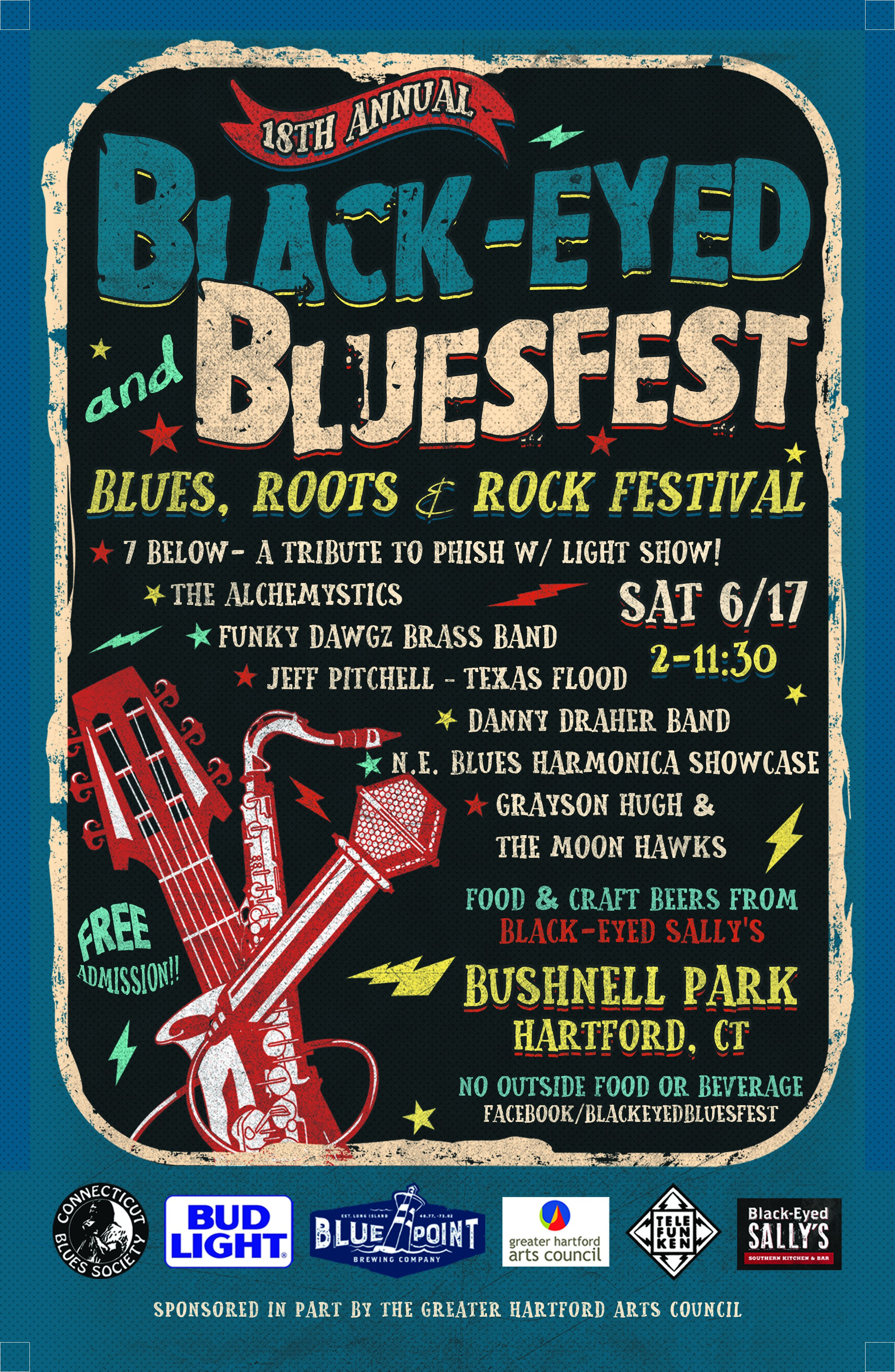 need cool poster for outdoor music festival