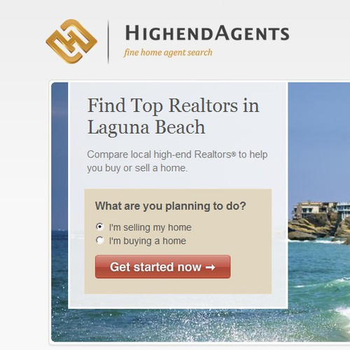 Luxury Home Website Wants an Elegant Logo