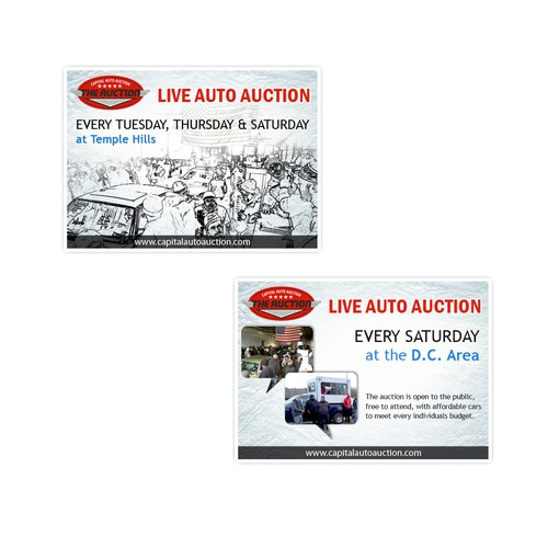 Banner ad for Capital Auto Auction