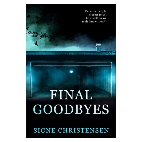 "E-book cover for ""Final Goodbyes"""