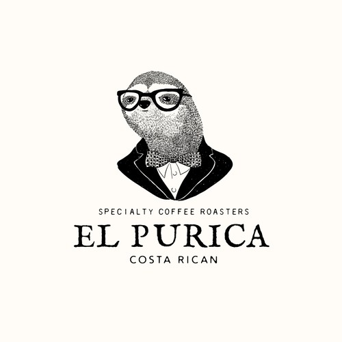 Logo for El Purica coffee roasters