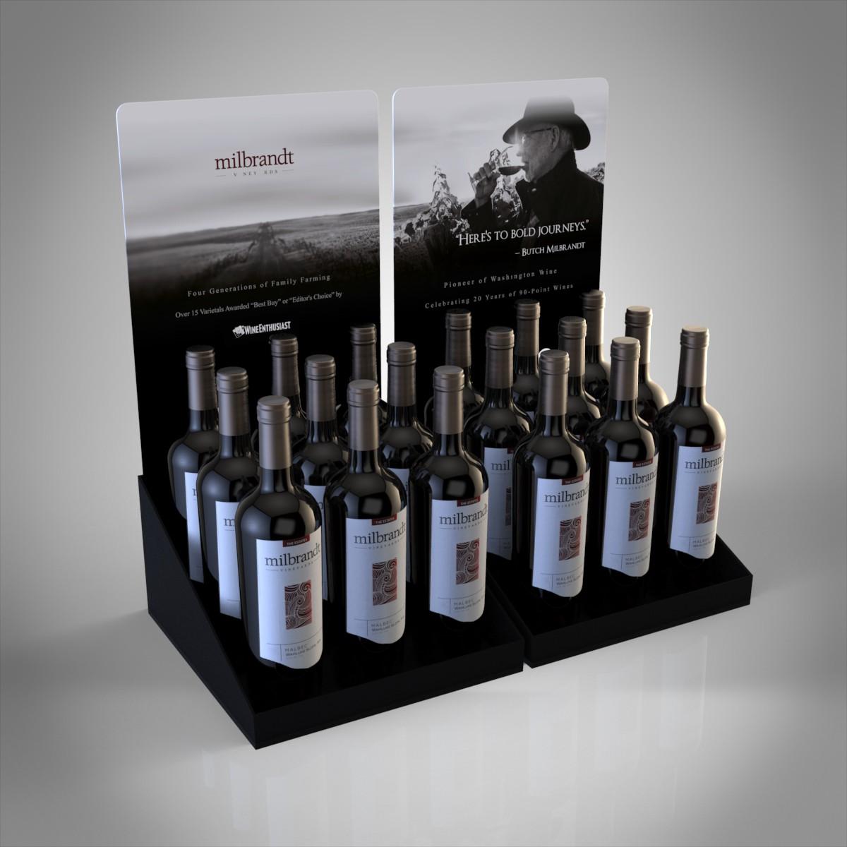 Milbrandt Wine Case Card