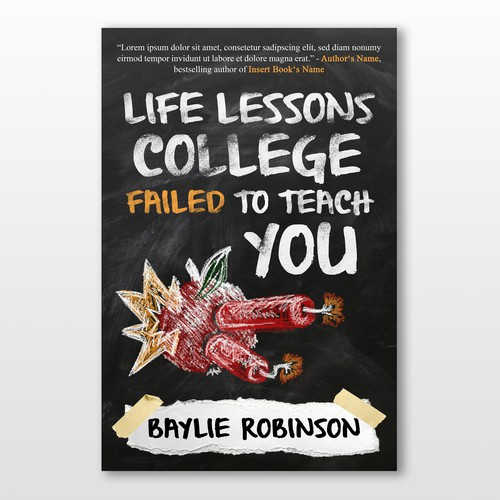 Cover for a School-Related Book