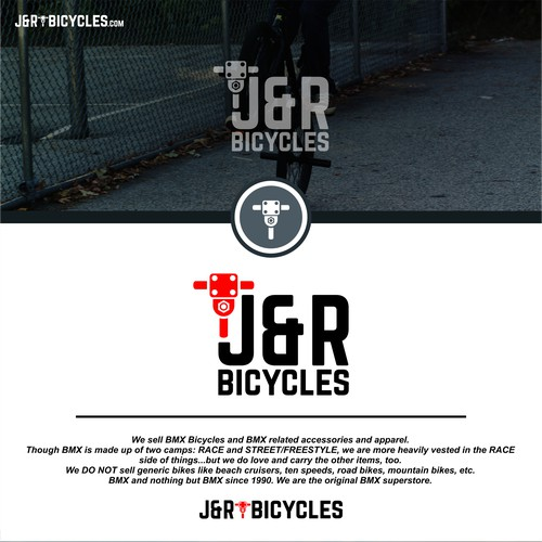 J&R BICYCLES Logo Design