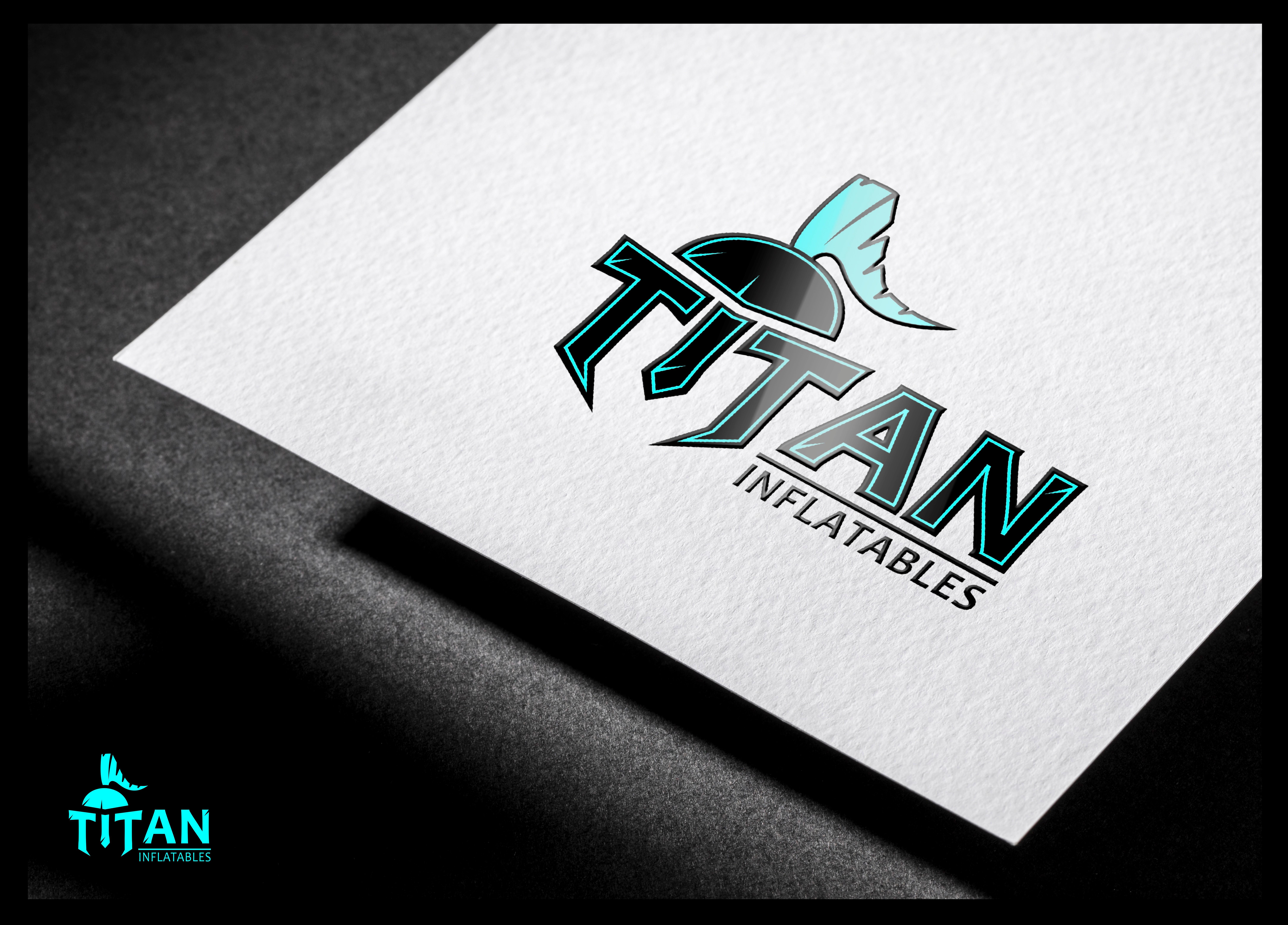 Titan Inflatable Manufacturing Company Logo