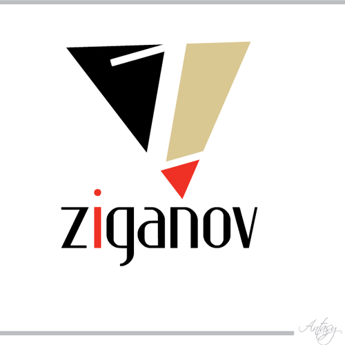 Logo for luxury cigarette
