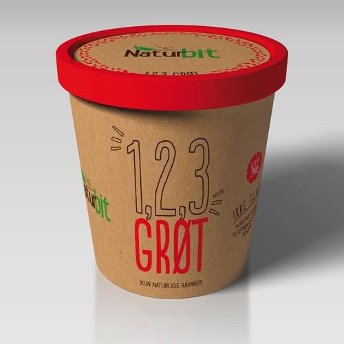 Packaging desings for Organic brand