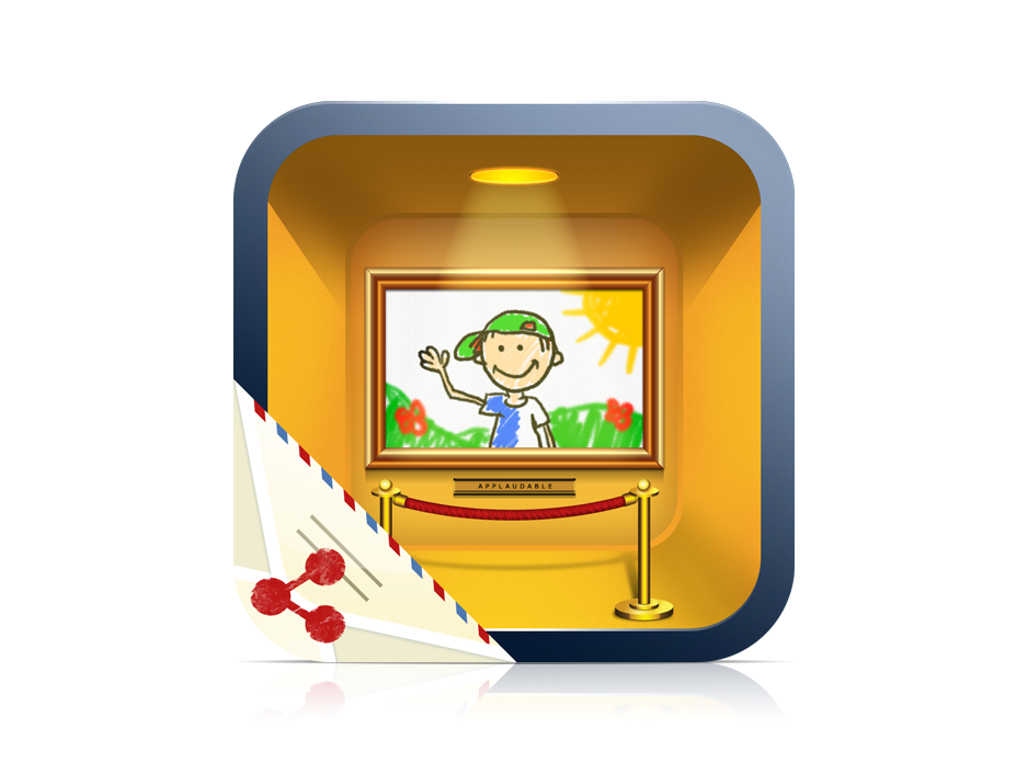 Applaudable needs a snazzy new icon design for a fun kid's artwork iphone app