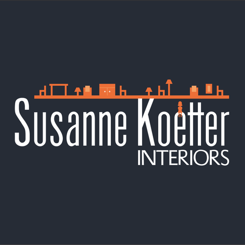 Wiiner logo for the interior designer Susanne Koetter