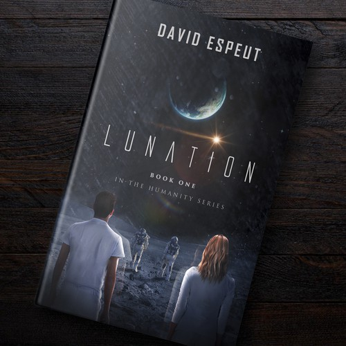 Lunation Artwork (Sci-Fi Novel)