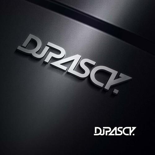 Modern, dynamic & clean logo for Dj Pascy