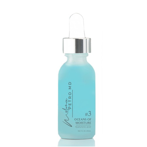 Label for cosmetics bottle